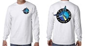 long sleeve t-shirt with full color logo