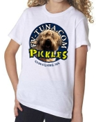 Kids t-shirt with pickles full color logo