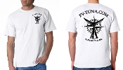white compass rose shirt